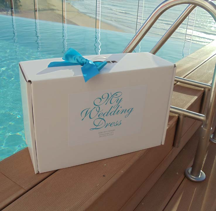 Wedding Gown Boxes: Personalised My Wedding Dress